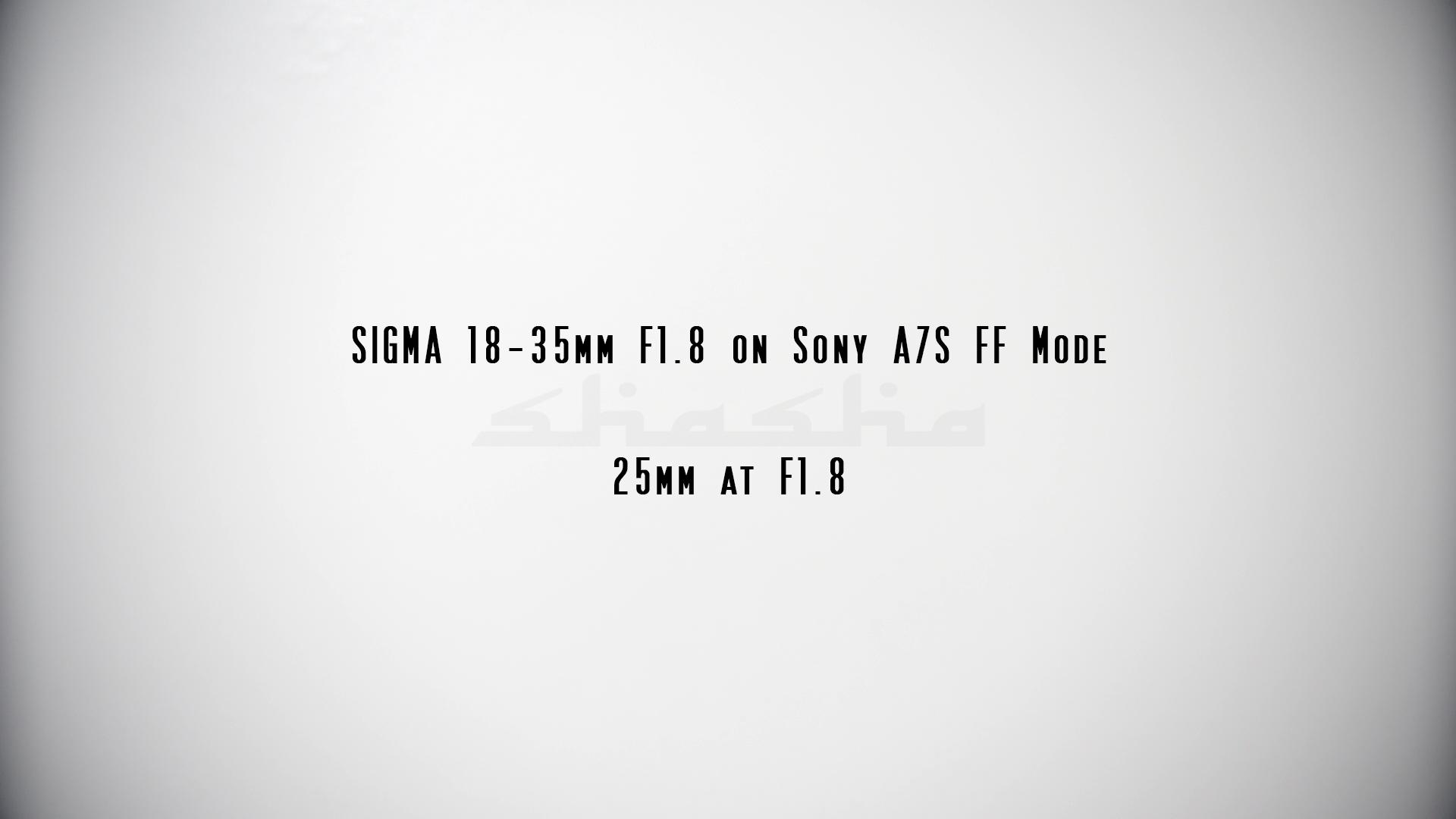 Sigma 18-35mm F1.8 on FF Sensor - EOSHD - EOSHD Forum