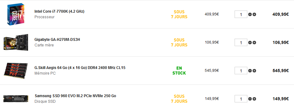 config LDLC.PNG