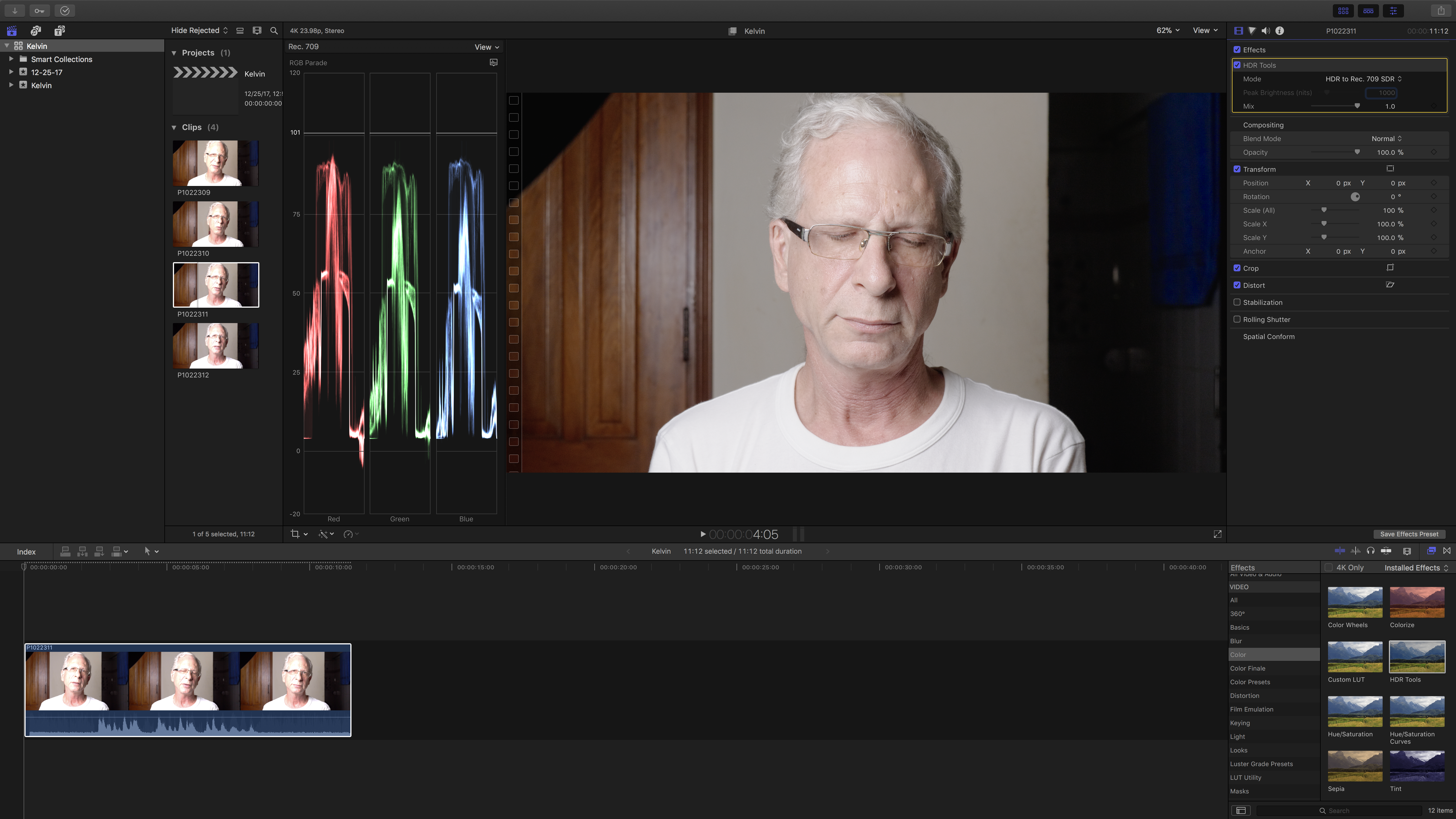 FCP 10 4 with new CC tools, 360°, HDR and Canon C200 RAW