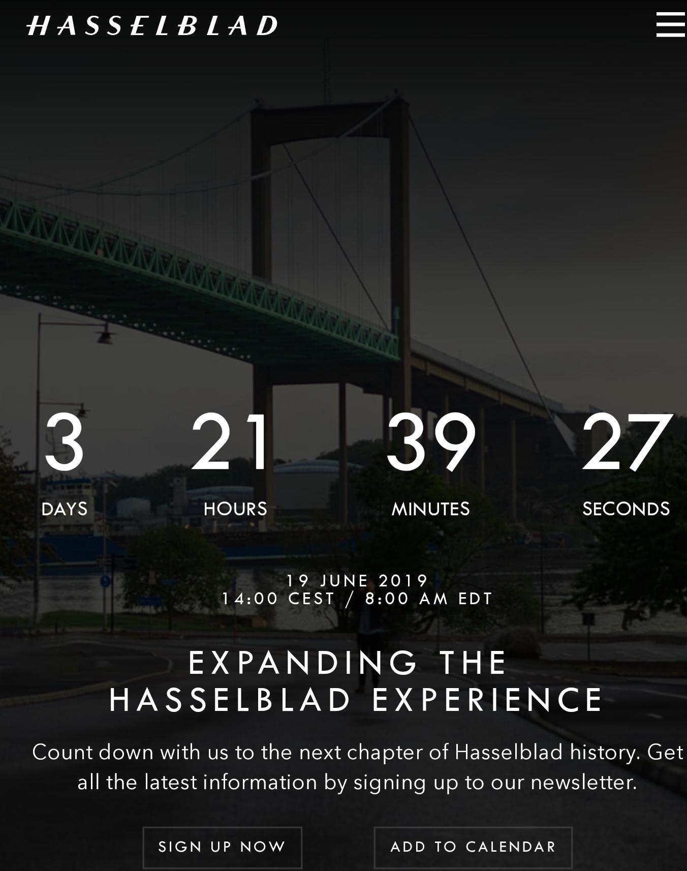 Hasselblad X2D Medium Format Camera Coming? - EOSHD - EOSHD Forum