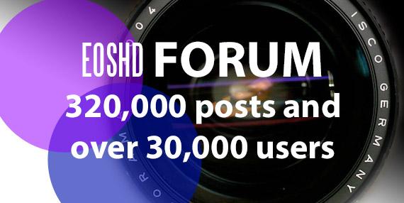 Join the EOSHD Forum