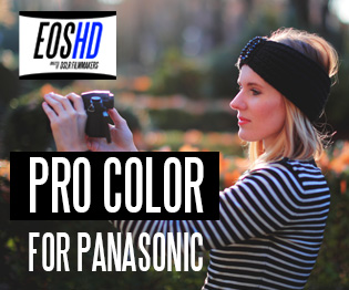 EOSHD Pro Color for Panasonic cameras