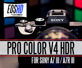EOSHD Pro Color V4 HDR for Sony cameras