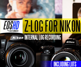 EOSHD Z-LOG For Nikon Cameras