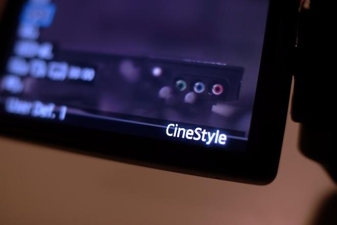 technicolor cinestyle 550d