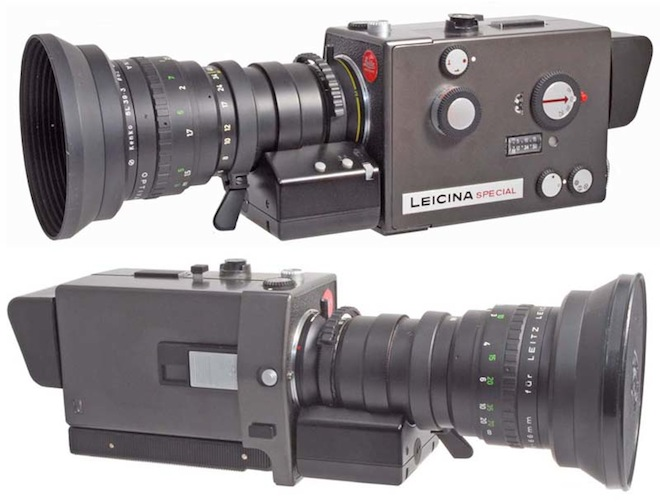 More Parallels With Modern DSLR Shooting The Leicina Could Be Synced Dual System Audio Recorders Via A CC9 Cable And An Intervalometer Enabled