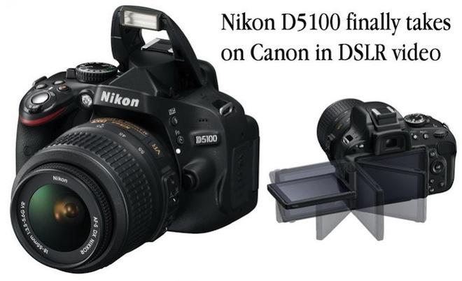 nikon d5100 announced updated eoshd