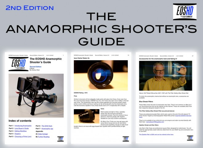 The EOSHD Anamorphic Shooter's Guide - 2nd Edition