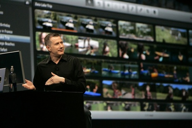 Randy Ubillos, chief architect for video applications, Apple - and his main passion in life: iMovie.