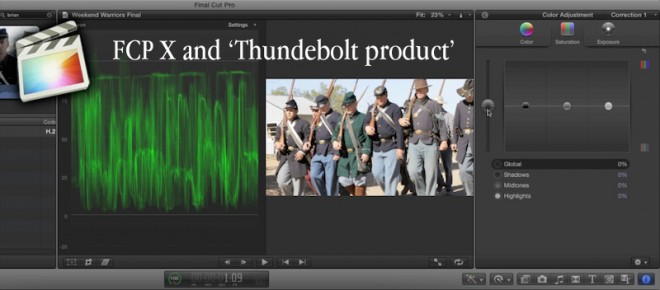 FCPX and 'Thunderbolt Product' due June 20th