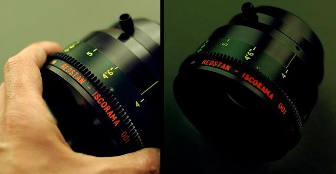 REDSTAN Iscorama 001 anamorphic lens
