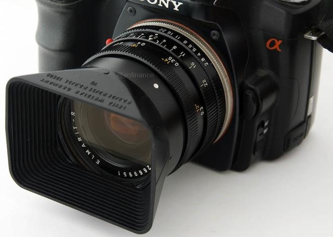 Sony Alpha Leica R Adapter by JIN Finance