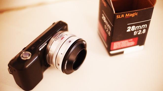 SLR Magic NEX 28mm on Sony NEX-3