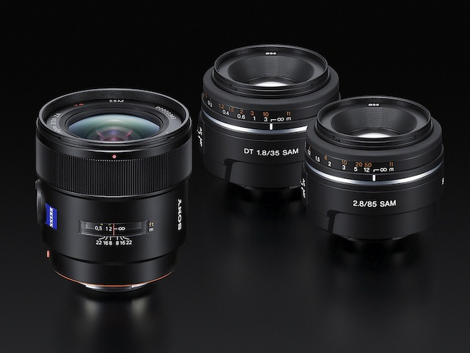 Sony A77 lenses