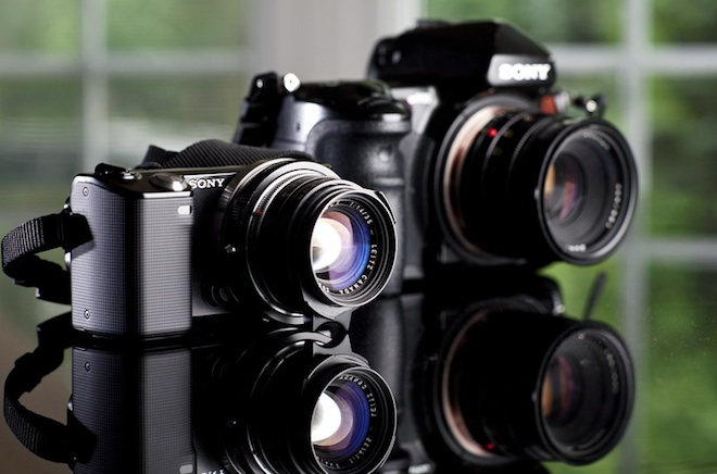 Sony NEX and Alpha DSLRs with Leica R lenses