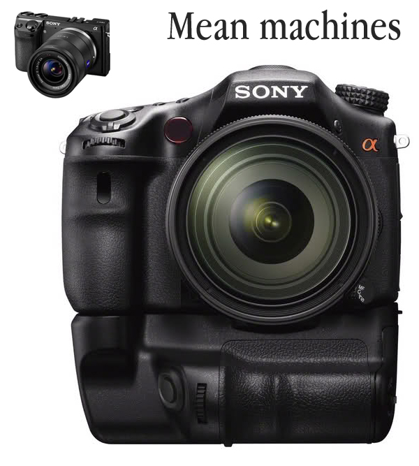 The Sony NEX7 and A77