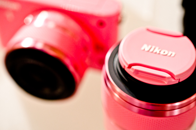 Nikon J1 in pink