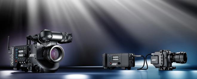 New Alexa digital cinema cameras