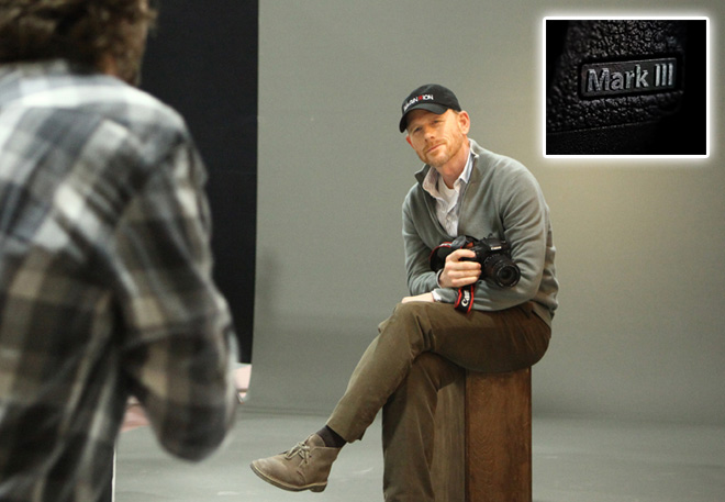 Ron Howard - 5D Mark III coming soon?