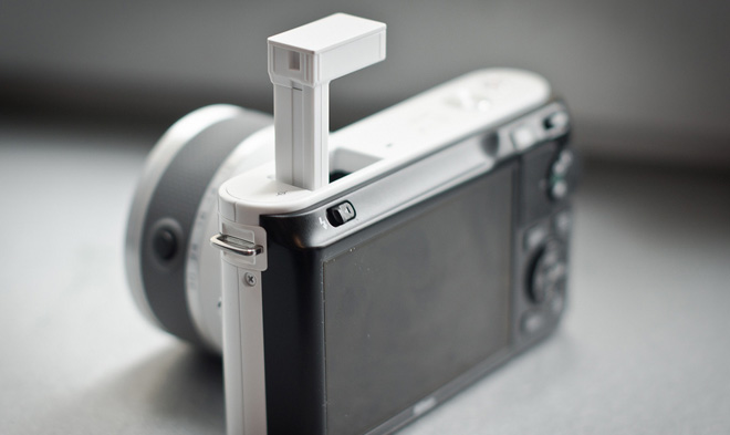 Nikon J1 Flash