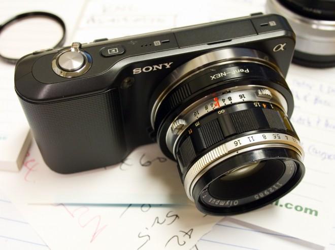 Olympus 38mm NEX 3