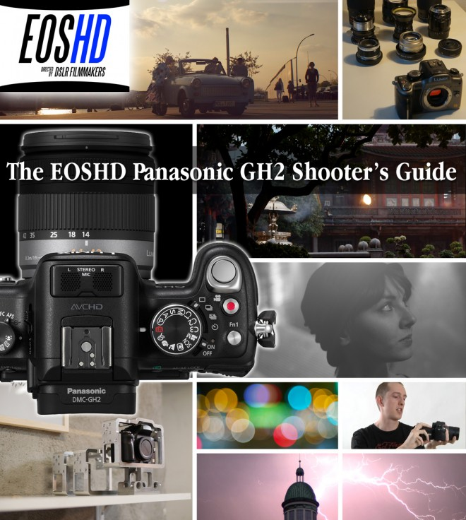 EOSHD Panasonic GH2 Shooter's Guide - Front cover