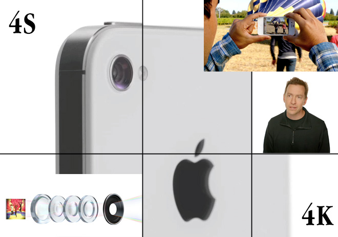 The new iPhone 4S camera