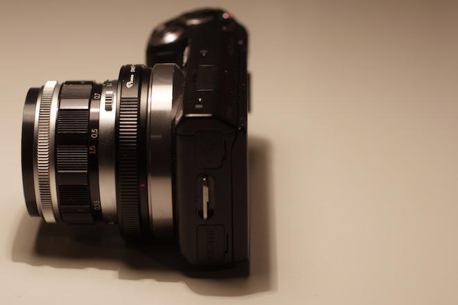NEX 5N Olympus 38mm F1.8 PEN-F