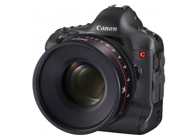 Canon 4K Cinema EOS DSLR