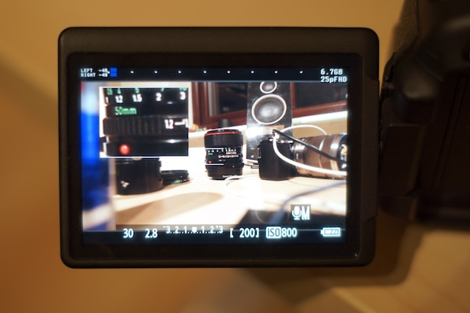 Canon 600D and latest Magic Lantern hack to bring adjustable frame