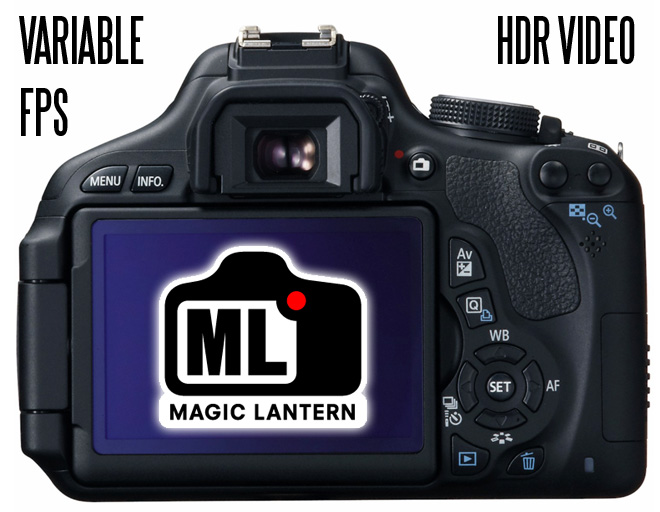 Canon 600D and Magic Lantern - HDR Video and Variable Frame Rates