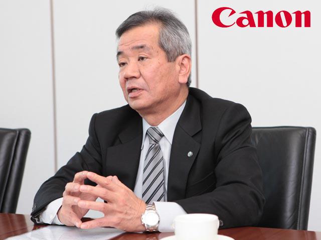 Canon MD of imaging Masaya Maeda
