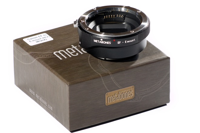 Metabones NEX FS100 - Canon EF mount adapter