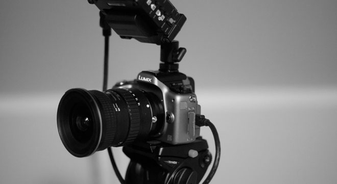 GH2 with Zacuto EVF and Tokina 11-16
