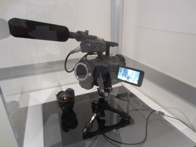 JVC 4K interchangeable lens camera
