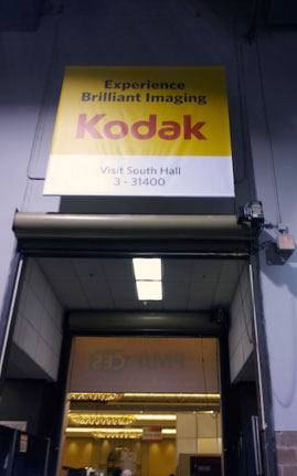 The Kodak sponsored PMA at CES 2012