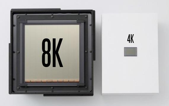 8K sensor
