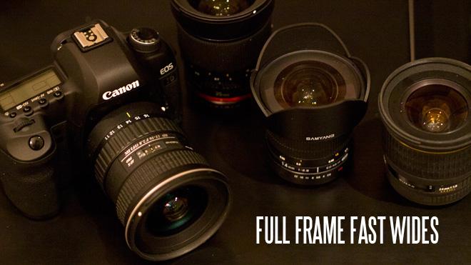 Full frame fast wides