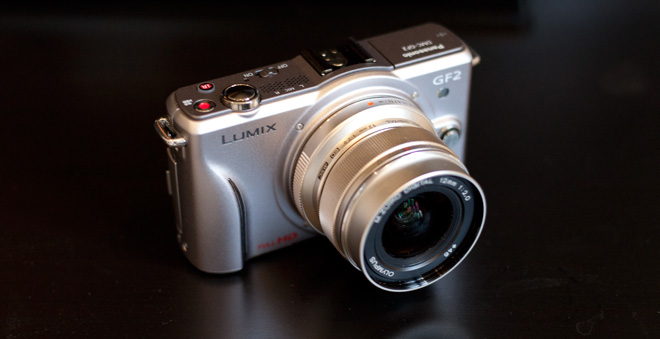 Hacked GF2 with Olympus 12mm F2