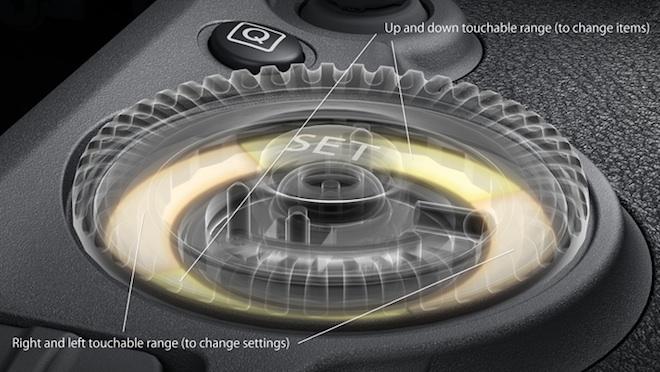 5D Mark III click wheel