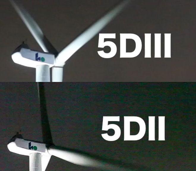 5D Mark III vs Mark II low light