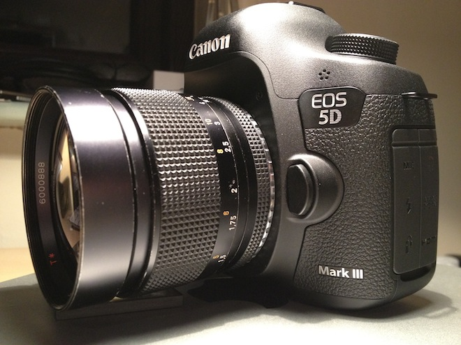 5D Mark III with Contax Zeiss 85mm F1.4