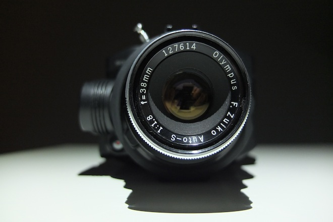 Bokeh distortion with the Olympus PEN-F 38mm F1.8