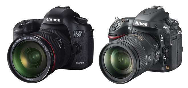 Canon 5D Mark III vs Nikon D800 video mode