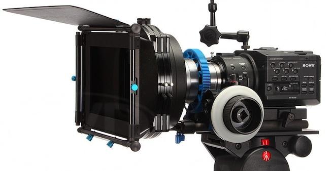 Sony FS100 rig