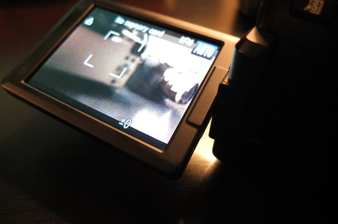 G1 X screen