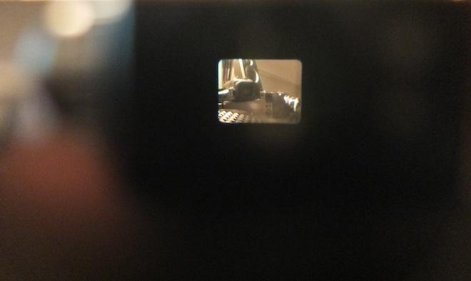 G1 X viewfinder