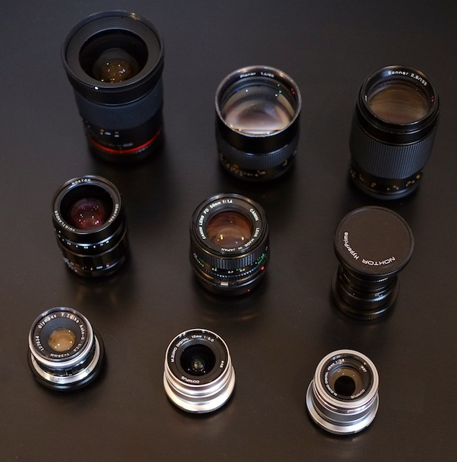 Recommended lenses