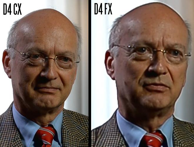 Nikon D4 CX vs FX