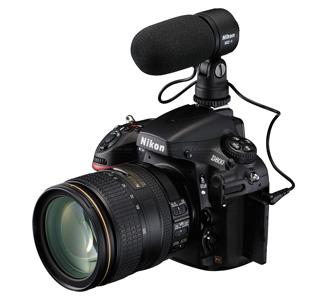 Nikon D800 audio